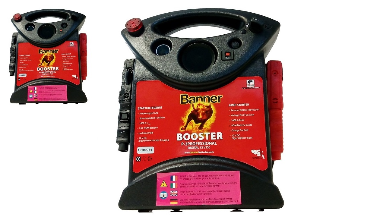 BANNER BOOSTER P3-PROFESSIONAL 1600A